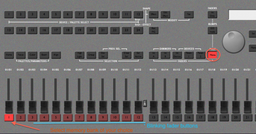 How to use Lighting Console - KDHX Production